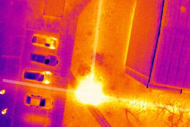 Thermografie - Drohnen Einsatzgebiete - airmess