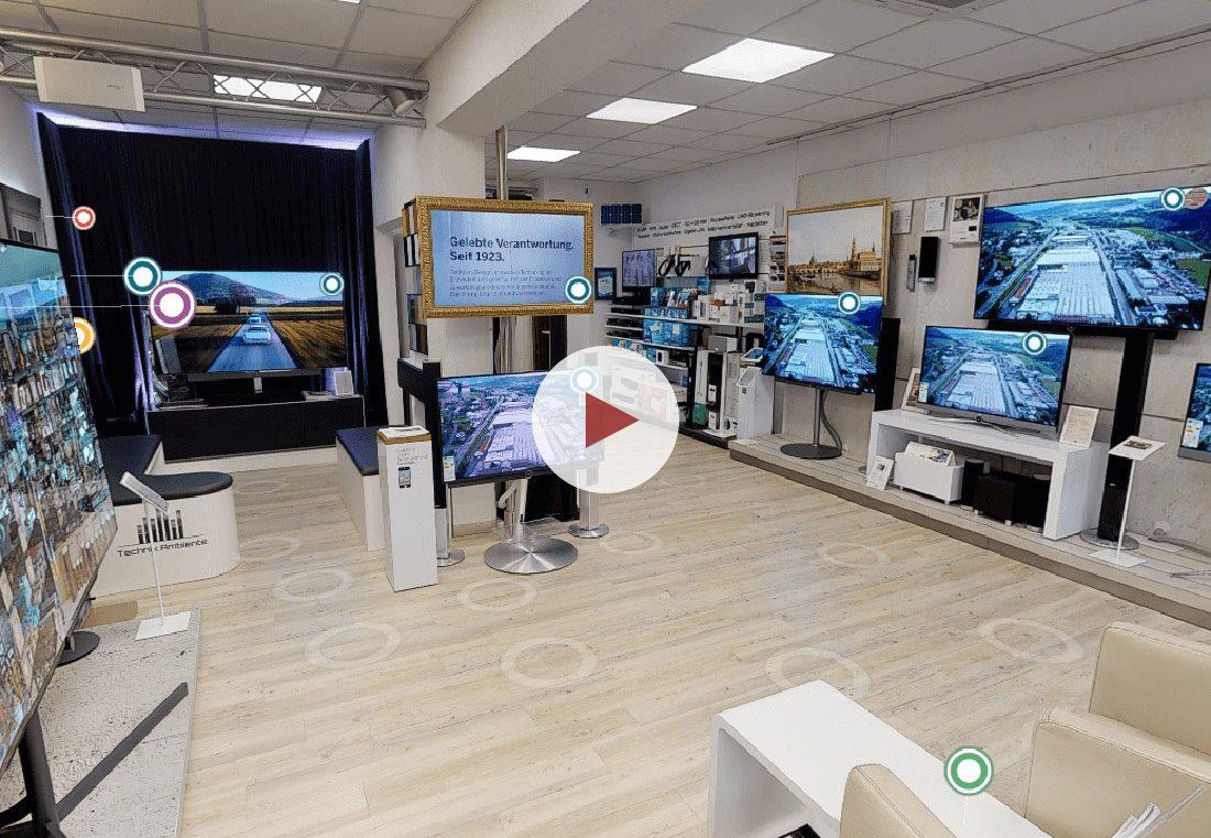 Virtueller Rundgang von airmess im Technik Einzelhandel